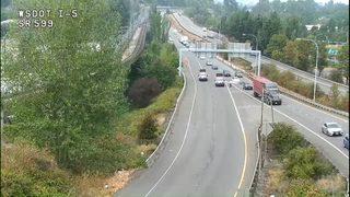 1 killed in crash Thursday near southbound SR 599 on-ramp to I-5