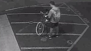 RAW VIDEO: Bike share vandal seen on camera