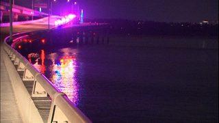 Handcuffed DUI suspect jumped off 520 bridge