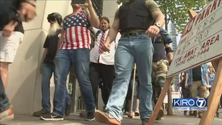 3 arrested at mostly peaceful Patriot Prayer rally