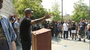Patriot Prayer, a group founded by Joey Gibson, hosted a pro-gun rally in Seattle on Saturday afternoon.