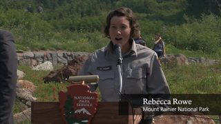 VIDEO: Military Members Become US Citizens at Mount Rainier National Park
