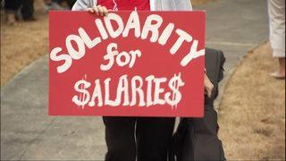 VIDEO: Teachers prepare for strikes statewide days before school starts