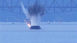 RAW VIDEO: Explosive device detonated by Coast Guard in Puget Sound