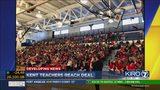 VIDEO: Kent teachers reach agreement with district