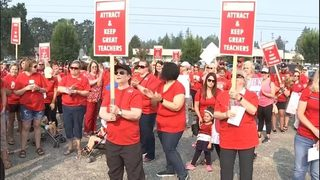 VIDEO: Seattle teachers vote to authorize strike on Sept. 5