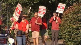 Nearly 6,000 teachers on strike as contract battles continue