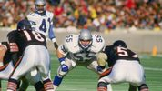 20 Dec 1987: Linebacker Brian Bosworth of the Seattle Seahawks #55 looks on during a game against the Chicago Bears at Soldier Field in Chicago, Illinois. The Seahawks won the game, 34-21.