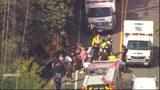 VIDEO: School bus crashes near Auburn