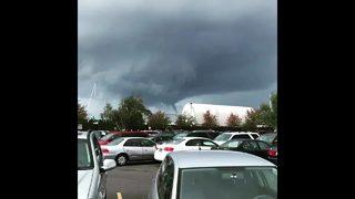 RAW VIDEO: Funnel cloud in Ballard