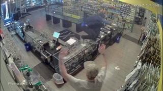 RAW VIDEO: White Center pot shop robber caught on camera