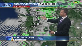 KIRO 7 PinPoint Weather video for Sat. evening
