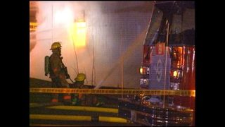 RAW VIDEO: Pang warehouse fire coverage, Jan.