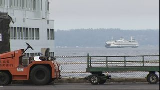 WSP: Colman Dock workers, troopers assaulted