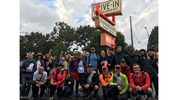 The Dick's Walk-a-Thon group at the Wallingford Dick's Drive-In location in 2017.
