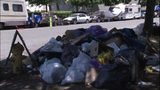 VIDEO: Seattle city crews clean up RV camp