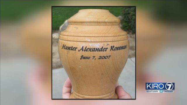 wenatchee woman searching for owner of lost urn kiro tv