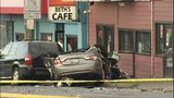 VIDEO: One dead after crash in front of Beth's Cafe