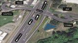 The redesigned Berkeley Street interchange from Interstate 5 is shown in this rendering released by the Washington state Department of Transportation. Washington state Department of Transportation - Courtesy