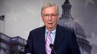 RAW VIDEO: Sen. Mitch McConnell speaks after confirmation vote
