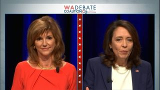 RAW VIDEO: Maria Cantwell v. Susan Hutchison debate (Oct. 8, 2018)