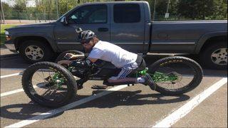Custom bike stolen from paralyzed Graham father