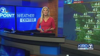 KIRO 7 PinPoint Weather video for Tuesday morning
