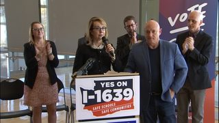 Gun safety initiative supporters launch final push as ballots go out