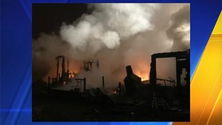 Fire destroys Maple Valley home