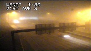 Heavy fog across Western Washington