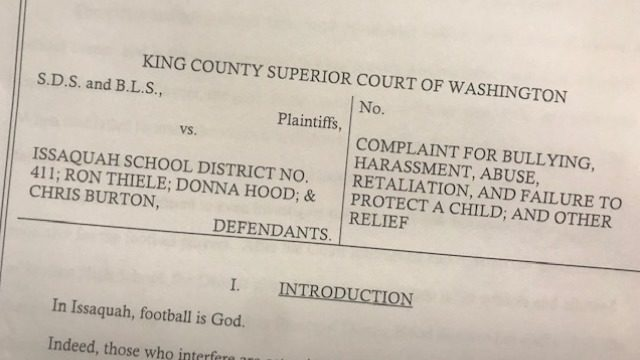 Skyline High student assaulted by football players sues the