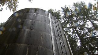 VIDEO: Mysterious pellets found on water tower