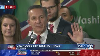 RAW VIDEO: Dino Rossi speaks on election night (11-6-18)