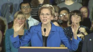 RAW VIDEO: Sen. Elizabeth Warren speaks on election night (11-6-18)