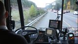 VIDEO: Some bus drivers will soon get pass to drive on shoulder of freeway