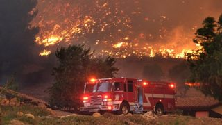 L.A. Rams cancel practice for fire; 20 players, coaches evacuate