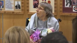WWII veteran, 98, from Orting is first woman inducted into VA