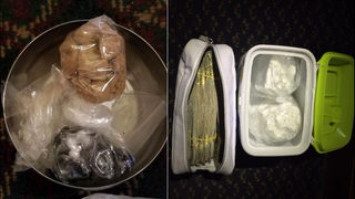 Search, arrests yield large amount of heroin, cocaine and stacks of cash