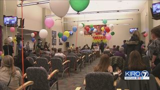 VIDEO: Families celebrate National Adoption Day
