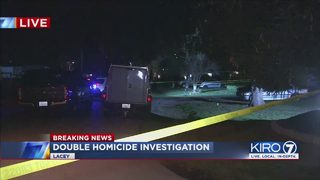 Lacey police investigating double homicide