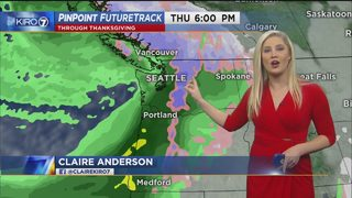 KIRO 7 PinPoint Weather forecast for Sun. evening