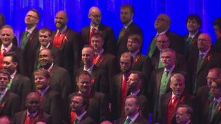 VIDEO: Live dress rehearsal for Seattle Men