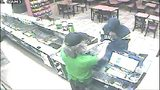 VIDEO: Police search for robbery suspect