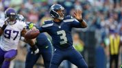 Quarterback Russell Wilson #3 of the Seattle Seahawks passes against the Minnesota Vikings during a preseason game at CenturyLink Field on August 18, 2016 in Seattle, Washington. (Photo by Otto Greule Jr/Getty Images)