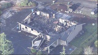 Arson destroys Jehovah