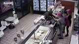 VIDEO: Employee fights back