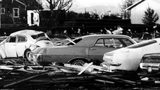 A photo of the 1972 Vancouver, Wash., tornado from a video produced by the National Weather Service.