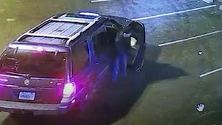 RAW: Suspect, vehicle in South Hill burglary