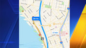 Twitter user @mattgilblezy said Apple Maps appeared to show the new SR 99 Tunnel as open Monday morning.