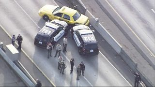 RAW VIDEO: Police chase ends on I-5 (1-16-19)